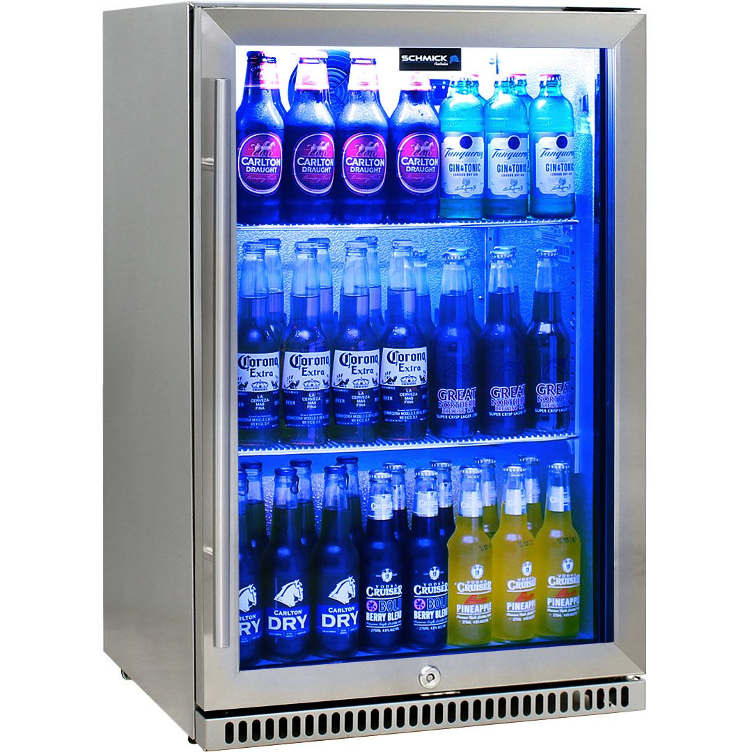 Schmick 304 Stainless Steel Bar Fridge Tropical Rated
